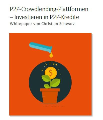 Titelbild zum Artikel Kostenloser Whitepaper P2P-Crowdlending-Plattformen