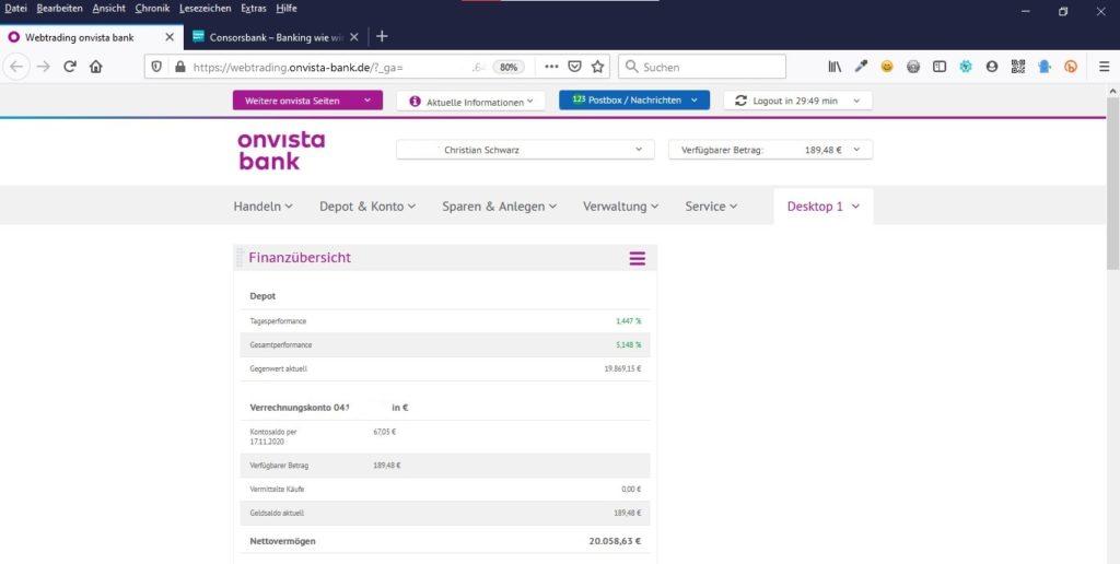 onvista-bank-aktien-depot
